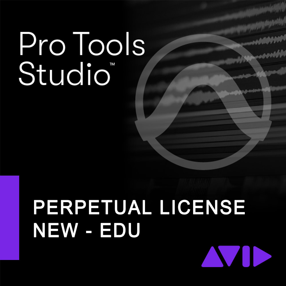 Avid Pro Tools Perpetual License with 1-Year updates + Support Edu