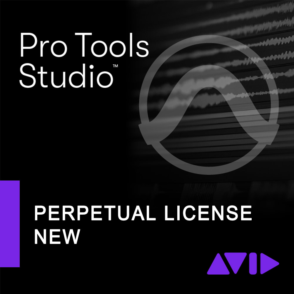 Avid Pro Tools Perpetual License NEW 1-Year with updates + Support