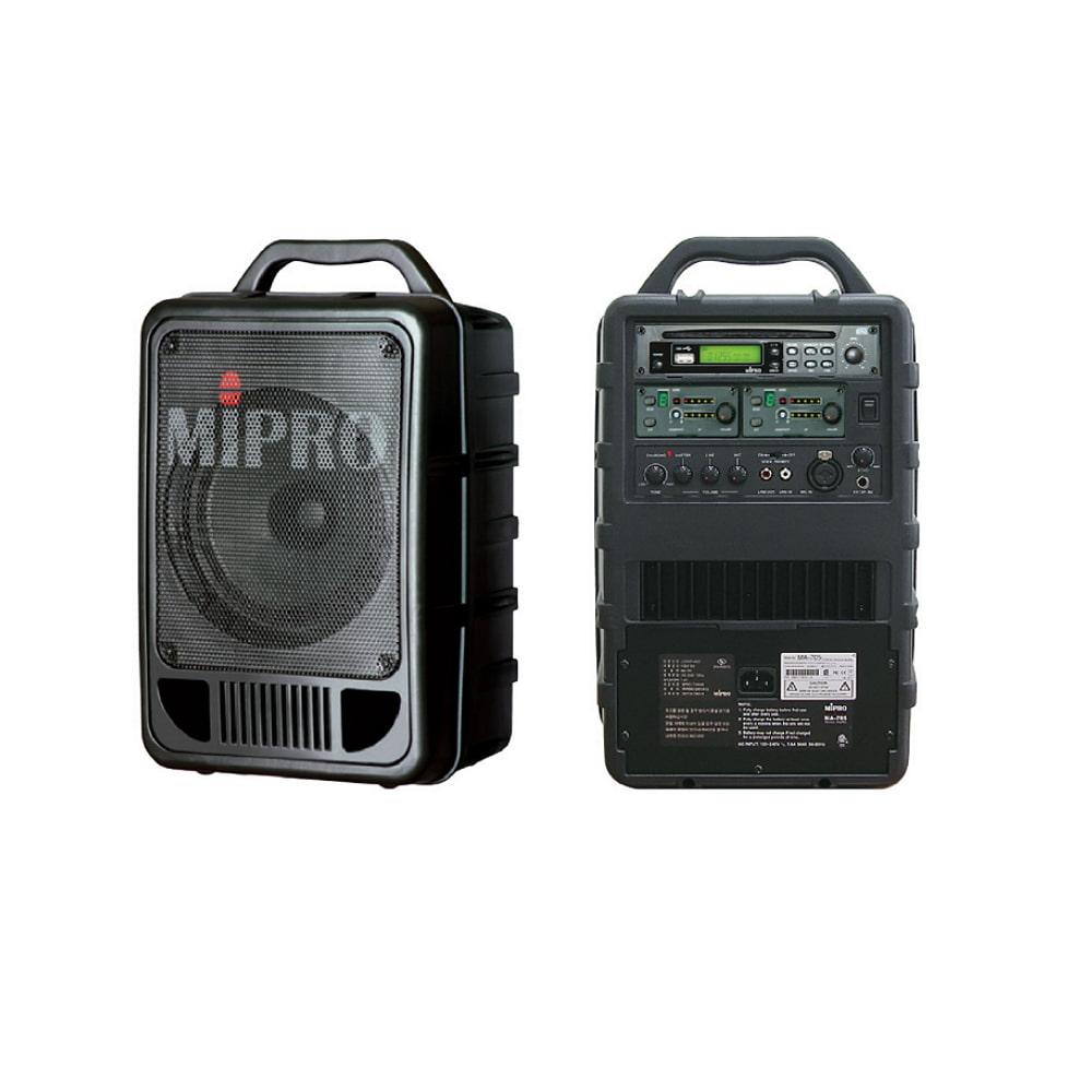 MIPRO MA-705 휴대용앰프 (CDP 핸드마이크포함)