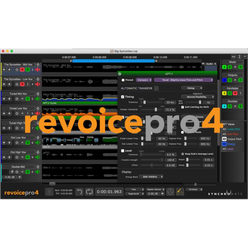 Synchro Arts Revoice Pro 4 - New License