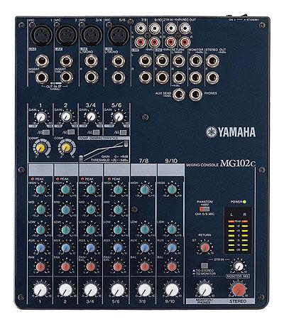 Yamaha MG102C