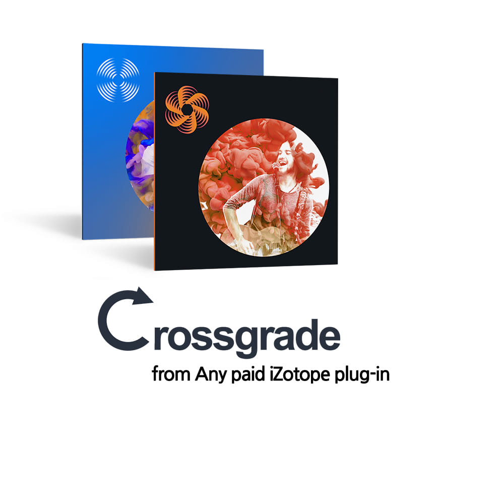 iZotope Narrator/V-Tuber Complete Package Bundle Crossgrade from Any paid iZotope plug-in