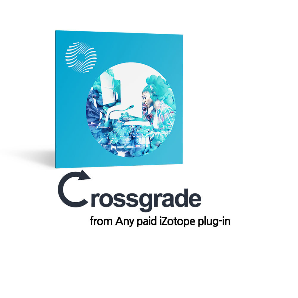 iZotope Ozone 9 Standard Crossgrade from Any paid iZotope plug-in