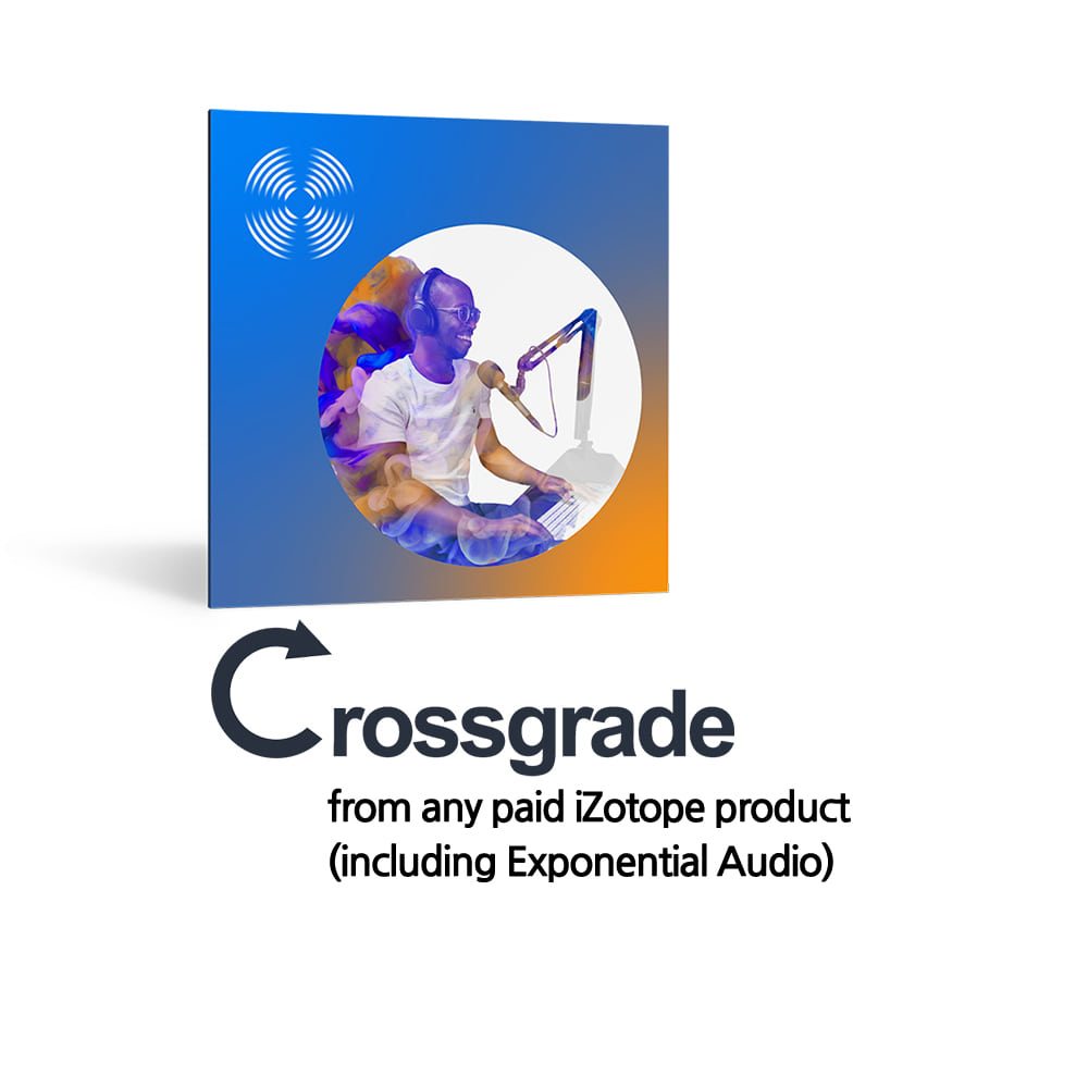 iZotope RX 8 Standard Crossgrade from any paid iZotope product (including Exponential Audio)