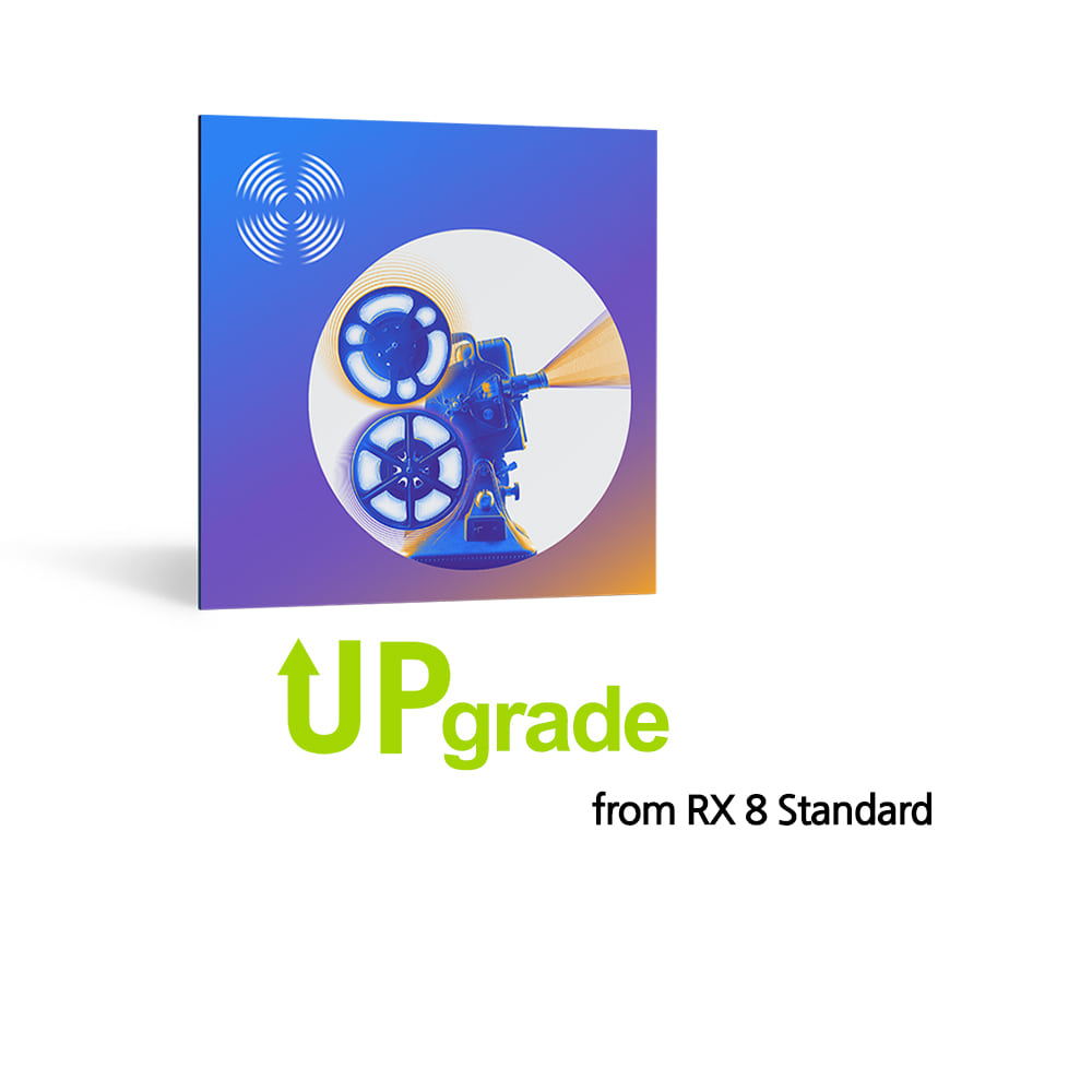 iZotope RX 9 Standard Upgrade from RX 8 Standard